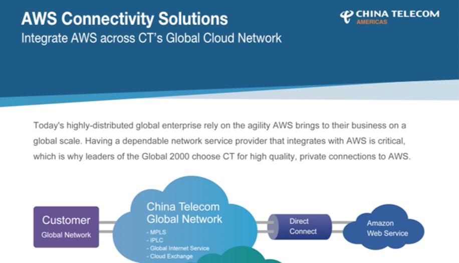 aws connectivity services