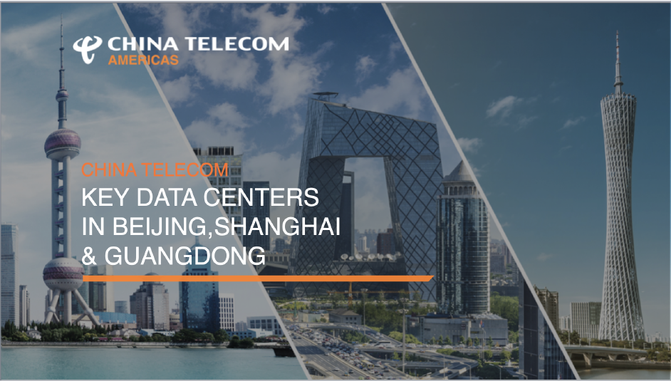 China Telecom Data Centers in Beijing Shanghai Guangdong Presentation