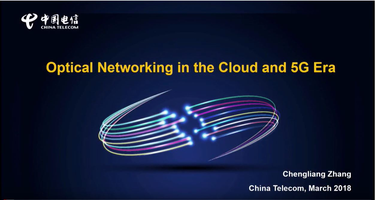 Optical Networking in the Cloud and 5G Era