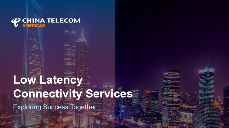 Low Latency Connectivity Preview Image