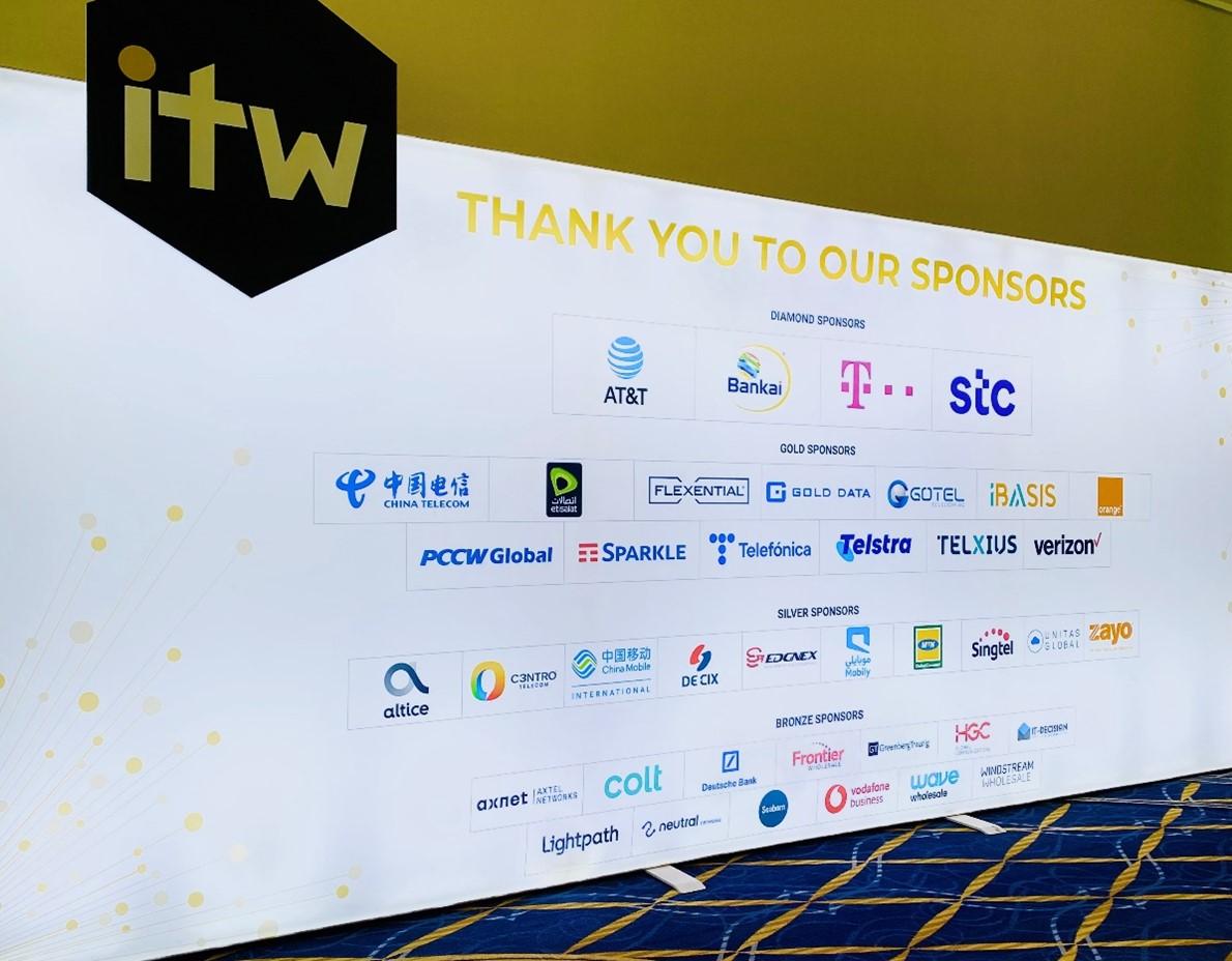 ITW 2021 Sponsors